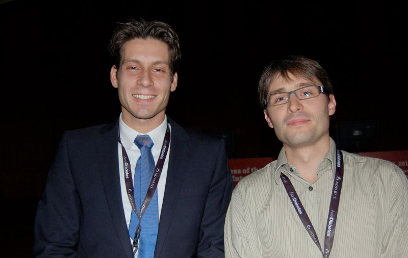 Dr Edward Visser (The Netherlands) and Dr Sylvain Audia (France)