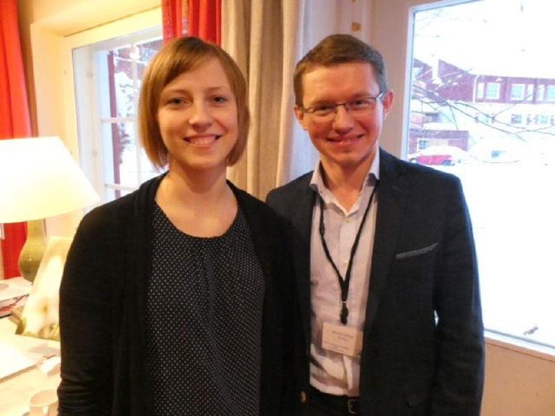 Dr Andra Peksa (Latvia), Dr Marek Felsoci  (Slovakia)