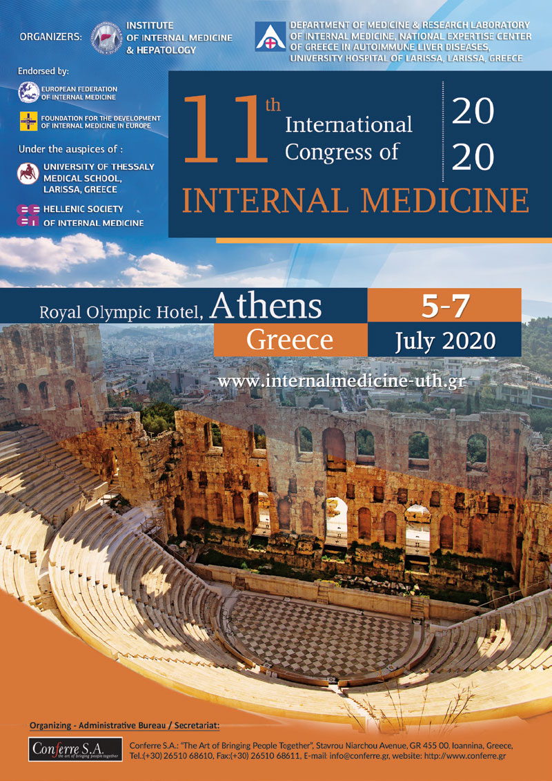 11th International Congress of Internal Medicine in Athens - Greece