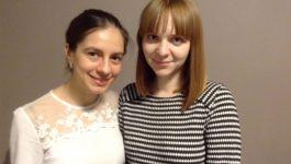 Caterina Delcea (Romania) and Ieva Sileikienė (Lithuania)