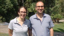 Doriella Galea from Malta and Ahmad Guiga from Tunisia