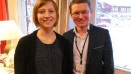 Dr. Andra Peksa, Latvia and Dr. Marek Felsoci, Slovakia