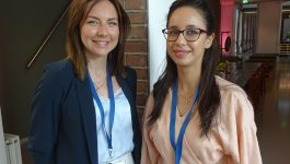 Dr Sabine Upmale and Dr Mariem Yahyaoui