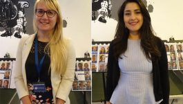 Dr. Veronica Madesova and Dr. Samar Derbal