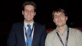 Dr Edward Visser (The Netherlands) and Dr Sylvain Audia (France)